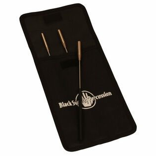 black swamp spectrum triangle beater set (3 with case)