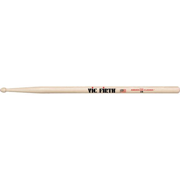 Vic Firth American Classic® 2B Wood Tip Drumsticks