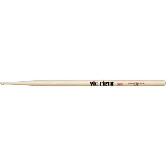 Wood Tip Vic-Firth AJ6 Sticks American Jazz