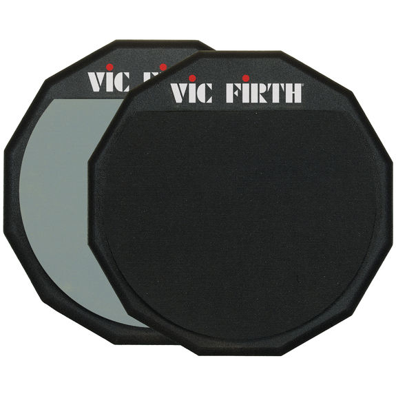 vic firth double sided practice pad 12 drum practice pads drum pads drum muffles. Black Bedroom Furniture Sets. Home Design Ideas