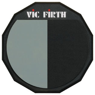 "vic firth single sided practice pad - 12"" double surface"