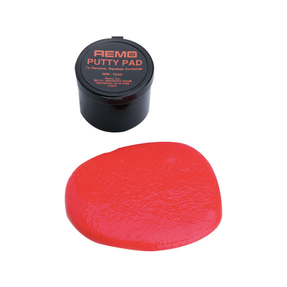 remo putty practice pad drum practice pads drum pads drum muffles steve weiss music. Black Bedroom Furniture Sets. Home Design Ideas