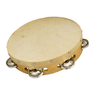 "weiss brand 08"" single row tambourine"