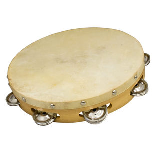 "weiss brand 10"" single row tambourine"