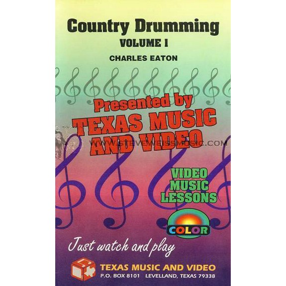 Eaton-Country Drumming vol  1 (VHS)