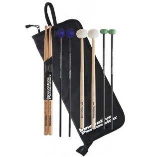 innovative percussion fp2 intermediate mallet pack