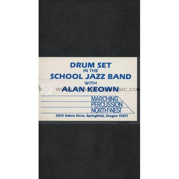 Keown Drum Set In The School Jazz Band Vol 2 Educational Drum