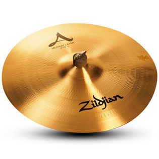 "zildjian 18"" medium crash cymbal"