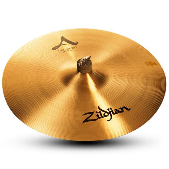 zildjian 18 thin crash cymbal zildjian cymbals brands steve weiss music. Black Bedroom Furniture Sets. Home Design Ideas