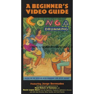 bermudez-conga drumming: a beginner's video guide (vhs)