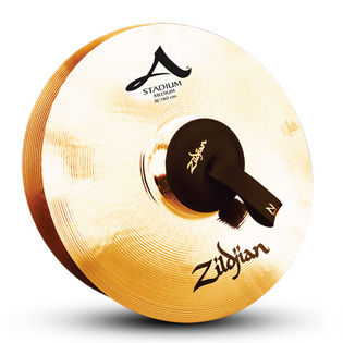 "zildjian 16"" stadium series medium cymbal pair"