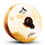 "zildjian 20"" stadium series medium cymbal pair"