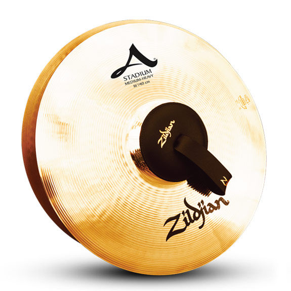 zildjian 16 stadium series med heavy cymbal pair hand cymbals cymbals gongs steve weiss. Black Bedroom Furniture Sets. Home Design Ideas