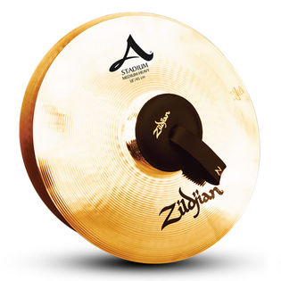 "zildjian 18"" stadium series med heavy cymbal pair"