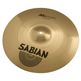 "sabian 18"" aa french cymbals"