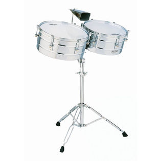 lp matador series timbale set - 14/15 steel (m257)