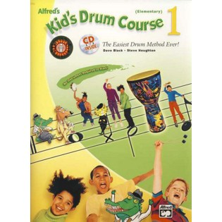 black/houghton-alfred's kid's drum course 1 (elementary) (includes cd and remo sound shape)