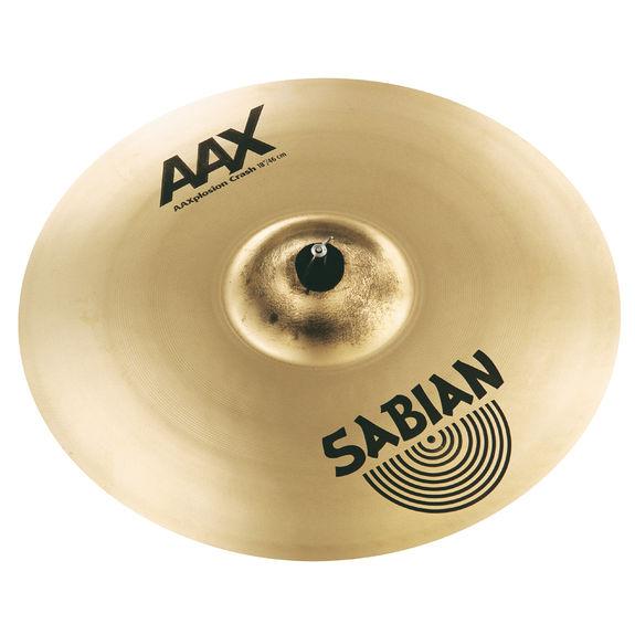 sabian 18 aax x plosion crash cymbal sabian cymbals steve weiss music. Black Bedroom Furniture Sets. Home Design Ideas