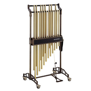 musser 1.5 octave classic chimes - brass finish (m635b)