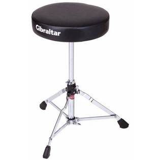 gibraltar 5608 round vinyl drum throne
