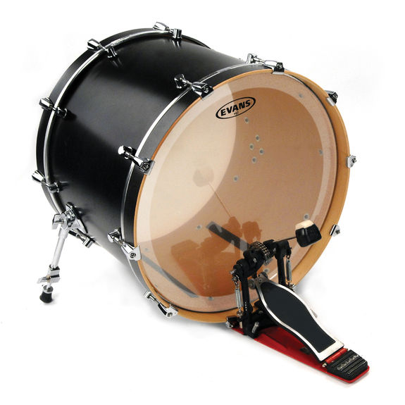evans eq3 batter clear bass drum head bass drum heads steve weiss music. Black Bedroom Furniture Sets. Home Design Ideas