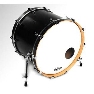 Evans Eq3 Bass Drum Head : evans eq3 resonant smooth white bass drum head with port bass drum heads steve weiss music ~ Hamham.info Haus und Dekorationen