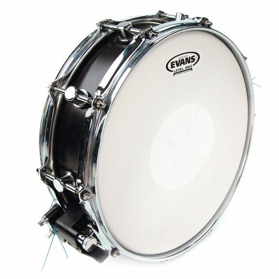 evans power center snare drum head snare drum heads tom heads steve weiss music. Black Bedroom Furniture Sets. Home Design Ideas