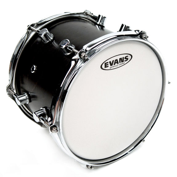 evans genera g1 coated drum head snare drum heads tom heads steve weiss music. Black Bedroom Furniture Sets. Home Design Ideas