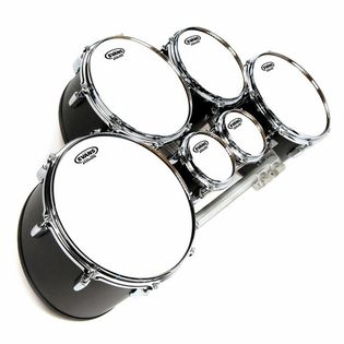 evans mx white marching tenor drum head