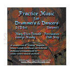 donald-practice music for drummers and dancers vol 1 (2 cd&#39s)