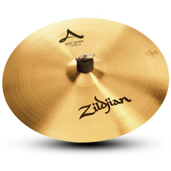 zildjian 14 fast crash cymbal crash cymbals cymbals gongs steve weiss music. Black Bedroom Furniture Sets. Home Design Ideas