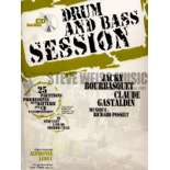bourbasquet/gastaldin-drum & bass session (cd)