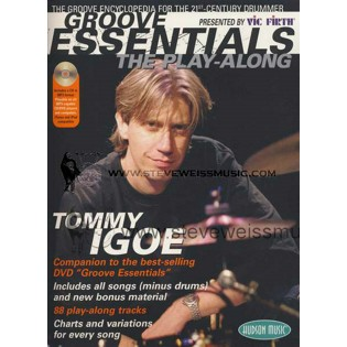 igoe-groove essentials (book/cd/dvd set)