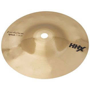 "sabian 07"" hhx evolution splash cymbal"