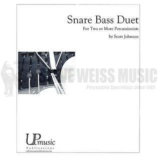 Snare Bass Duet by Scott Johnson | Percussion Ensemble Music