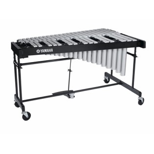 yamaha 3.0 octave silver studio vibraphone with motor