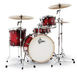 gretsch catalina club jazz 4 piece drum set shell pack
