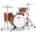 "Gretsch Catalina Club Jazz 4 Piece Drum Set Shell Pack - 18"" Bass Drum Alternate Picture"
