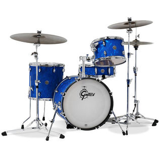 "gretsch catalina club jazz 4 piece drum set shell pack - 18"" bass drum"