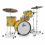 "Gretsch Catalina Club Jazz 4-Piece Shell Pack - 18"" Bass Drum Alternate Picture"