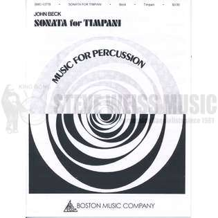 beck-sonata for timpani-4t