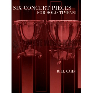 cahn-six concert pieces for solo timpani-3-6t