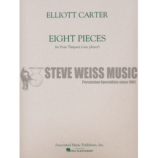 carter-eight pieces for four timpani