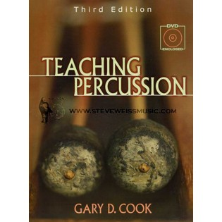 cook-teaching percussion (book w/ 2 dvds - third edition)