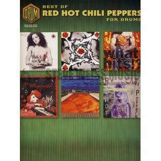 red hot chili peppers-best of (transcribed score w/drum s)