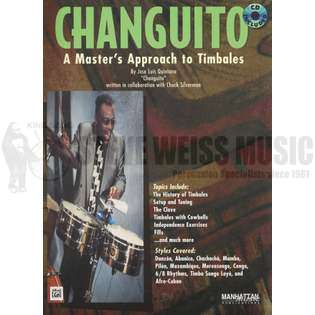quintana-changuito: a master&#39s approach to timbales (w/cd)