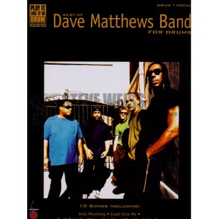dave matthews band-best of dave matthews band (drum transcr.)