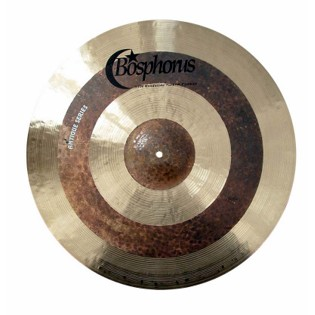 "bosphorus 18"" antique series jazz crash ride cymbal"