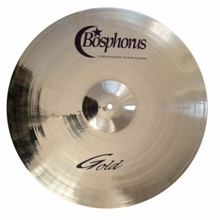 "bosphorus 16"" gold series fast crash cymbal"