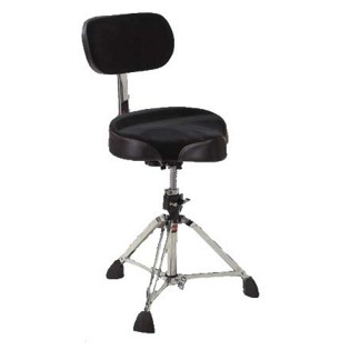 gibraltar 9608mb moto style drum throne with backrest